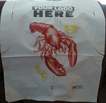 Name Drop on Stock Lobster Bibs - 5000 bib minimum